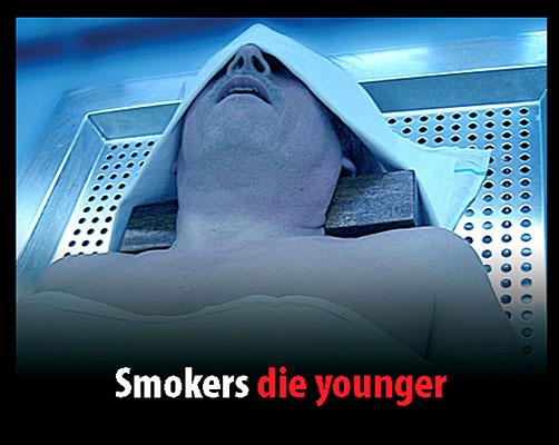 Campaña contra el tabaco jóvenes.