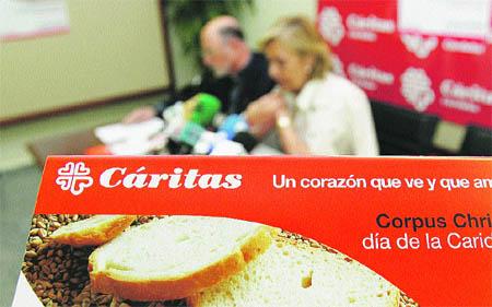 Cáritas Diocesana de Córdoba presentó ayer su memoria anual del año 2006.