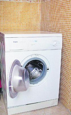 por la salud de tu lavadora