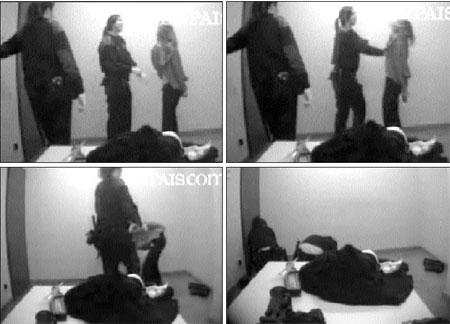 Un vídeo muestra otra paliza de dos mossos