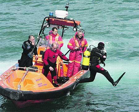 Aparece el cuerpo del tercer tripulante del 'Nuevo Amadorín'