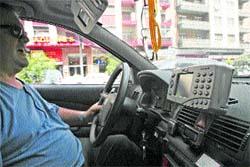 Mil taxis se guiarán
