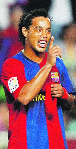 El Barça recurre la sanción de Ronaldinho