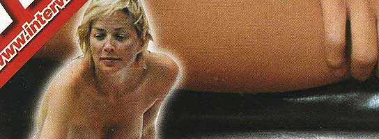 Sharon Stone en Interviú