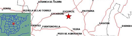 Un terremoto de 4,1 grados asusta a los ciudadanos de Guadalajara