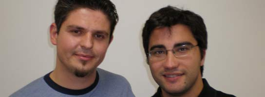 Eduardo y Joaquín, los fichajes españoles de Google.