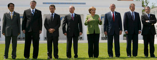El G 8 en Alemania (Re
