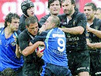 Tercera Copa de Rugby consecutiva para el Cetransa El Salvador