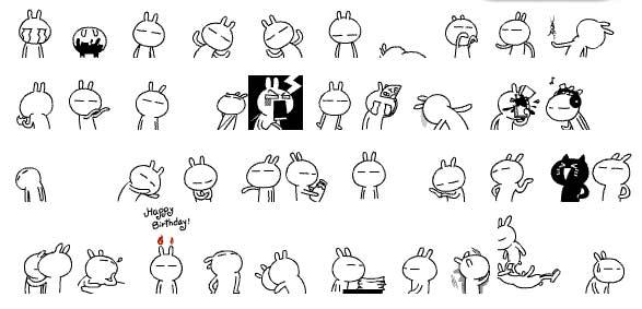Son los 'Tuzkis' y en China ya son los 'emoticonos' más populares