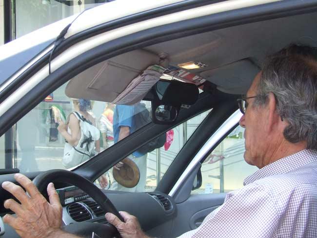 Cámaras de seguridad en el interior de los taxis para evitar robos