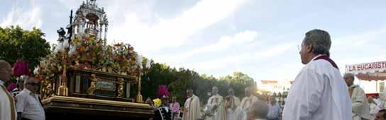 Una Eucaristiá del Corpus en Madrid