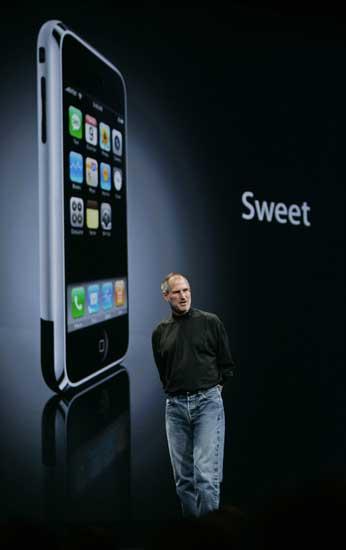 Steve Jobs y el iPhone