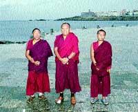 Rezo tibetano pasado por agua