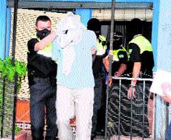 23 detenidos en una  operación antipiratería