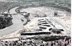 La Expo va contrarreloj, a un año de su apertura