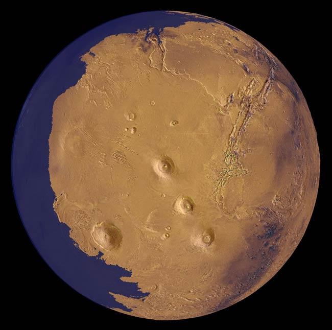 Marte tuvo un gran océano
