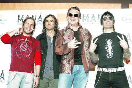 La gira de Maná arranca en Zaragoza