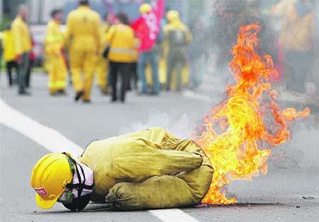 Galicia está desde hoy en alto riesgo de sufrir incendios forestales