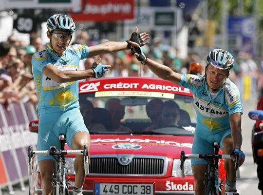 Colom se impone en la quinta etapa de la Dauphiné Liberé.