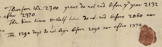 Manuscrito de Newton