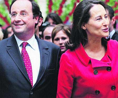 Ségolène Royal se separa de su marido