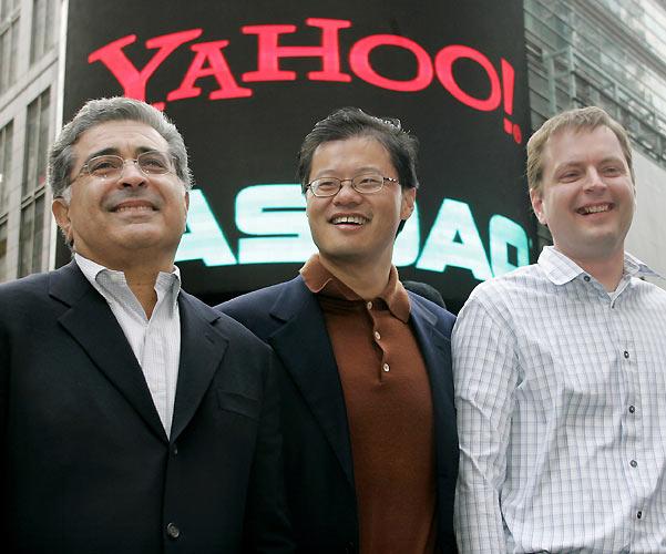 Cambio de líder en Yahoo!