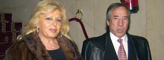 """""""El Fary"""" y su mujer, Concha."""