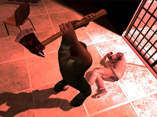 Captura del controvertido videojuego 'Manhunt 2'