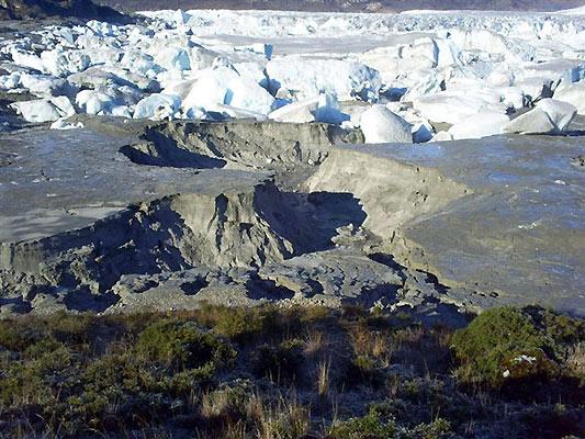 Desaparece un lago misteriosamente en Chile