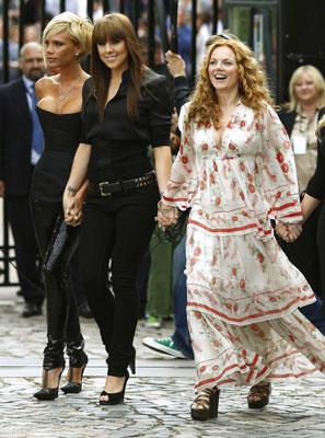 """Las """"Spice Girls"""", reunidas."""