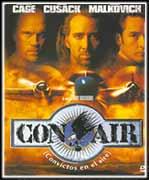 Con air, convictos del aire - Cartel