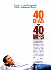 40 días y 40 noches - Cartel