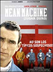 Mean machine (Jugar duro) - Cartel