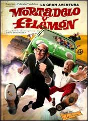 La gran aventura de Mortadelo y Filemón - Cartel