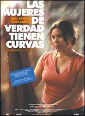Las mujeres de verdad tienen curvas - Cartel