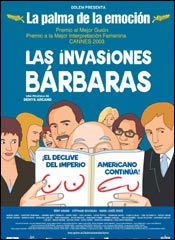 Las invasiones b�rbaras - Cartel