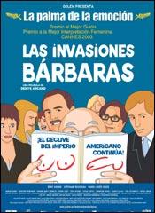 Las invasiones bárbaras - Cartel