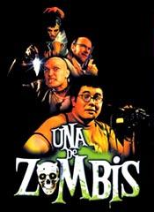 Una de zombis - Cartel