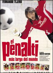 El penalti más largo del mundo - Cartel
