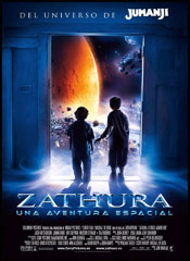 Zathura, una aventura espacial - Cartel