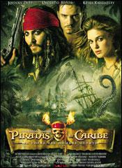 Piratas del Caribe 2: El Cofre del Hombre Muerto - Cartel