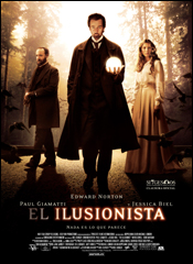 El ilusionista - Cartel