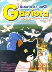 Historia de una gaviota (y del gato que le enseñó a volar) - Cartel