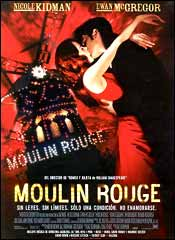 Moulin Rouge - Cartel