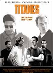 Titanes, hicieron historia - Cartel