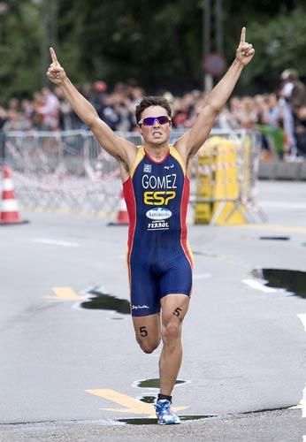 Gómez Noya, campeón