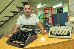 Pero ¿aún se venden máquinas de escribir?