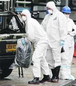 Psicosis tras hallar un cuarto coche bomba en Glasgow