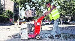 Se inician las obras en la calle Bolivia para acabar con los cortes de luz