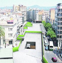Un año de obras en el centro de Sabadell para hacer 5 paradas de FGC